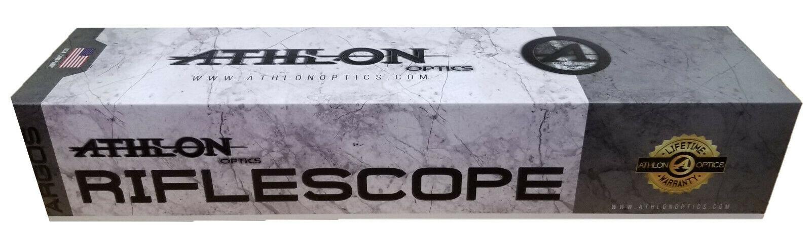Athlon Optics Argos BTR 6-24×50 APMR FFP IR MIL Scope 214061 Lifetime Warranty