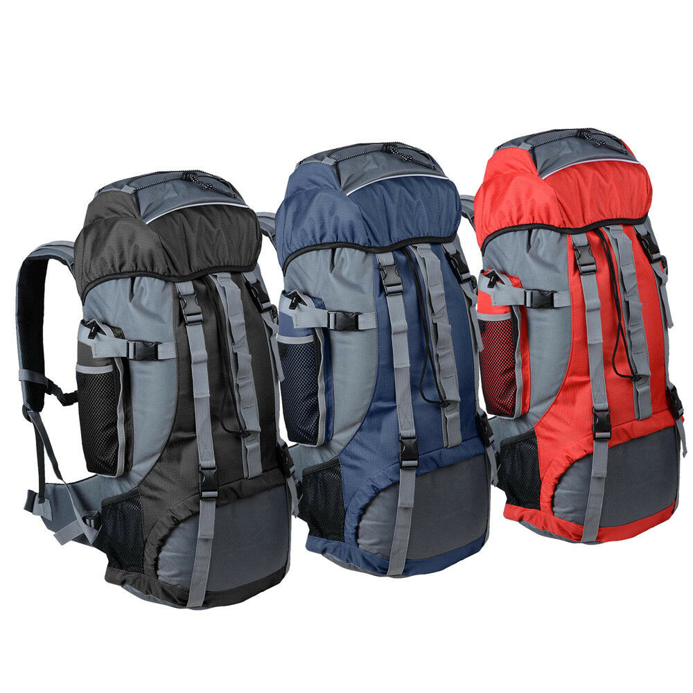 Waterproof 70L Outdoor Camping Travel Hiking Bag Backpack Daypack Trek Rucksack