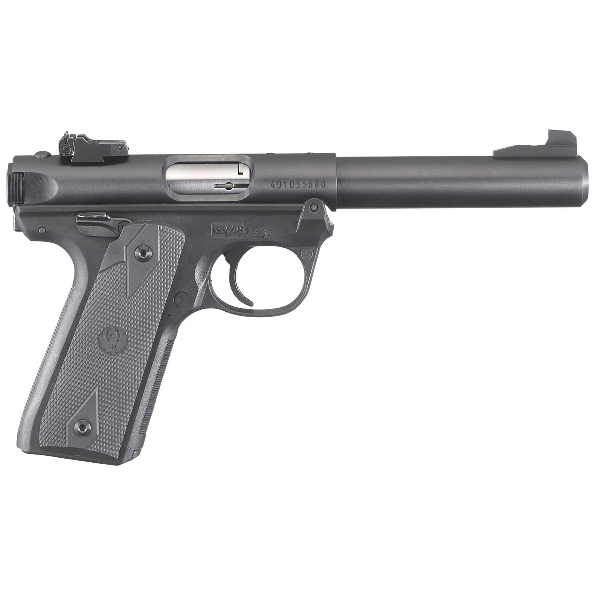 Ruger Mark IV 22/45 22 Long Rifle 5.5in Blued Pistol – 10+1 Rounds