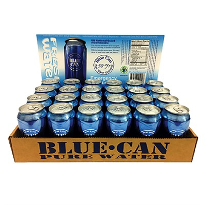 BLUE CAN WATER – BLUE CAN WATER