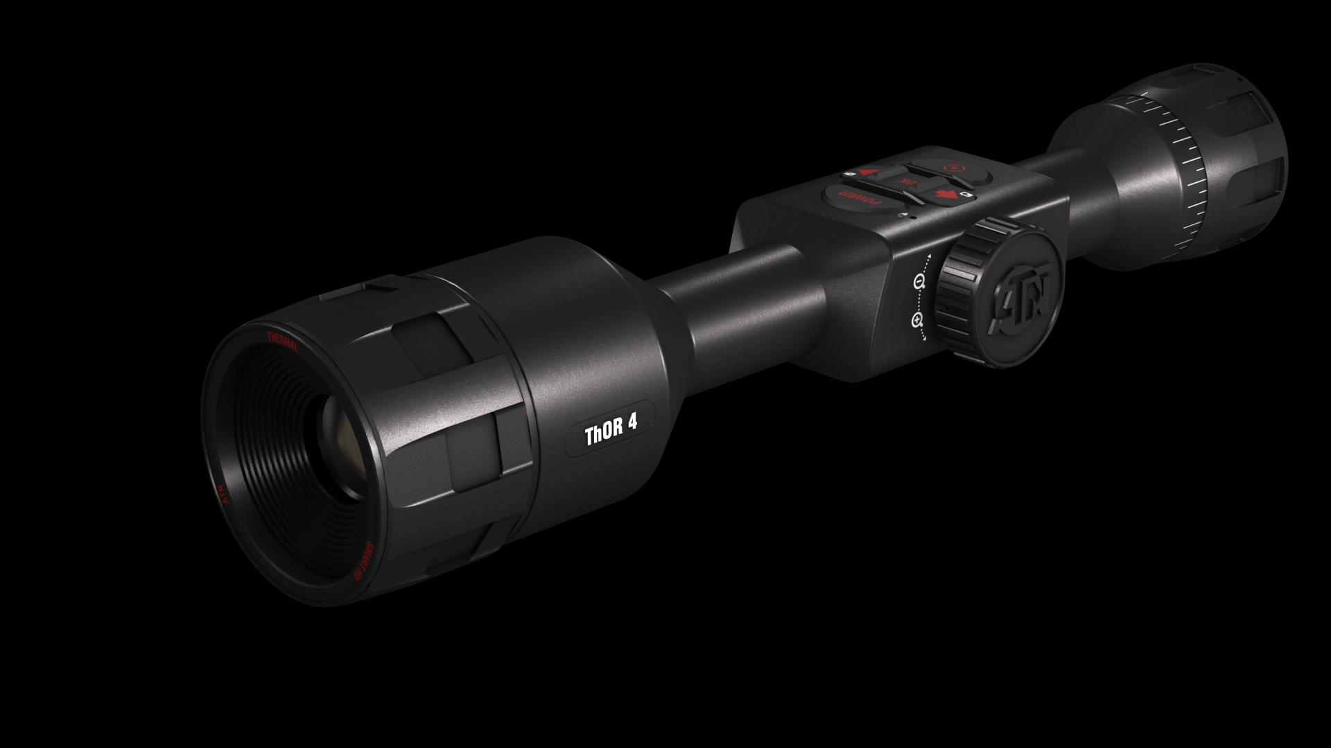 ATN Thor 4 640 1.5-15x 24×19 Degrees FOV Black Thermal Scope